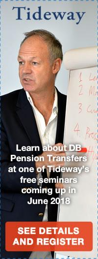 Free Defined Benefit Pension Transfer Seminars