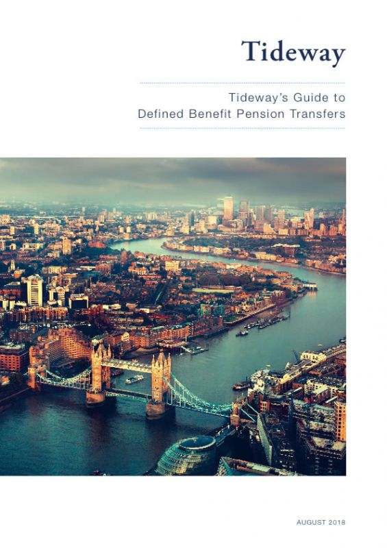 Tideway's Guide to Defined Benefit Pension Transfers