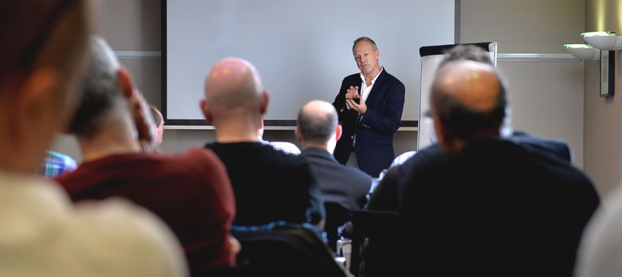 James Baxter at last year's London Seminar